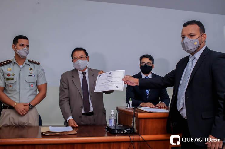 Candidatos eleitos são diplomados em Eunápolis; prefeita Cordélia Torres foi representada pelo sobrinho 24