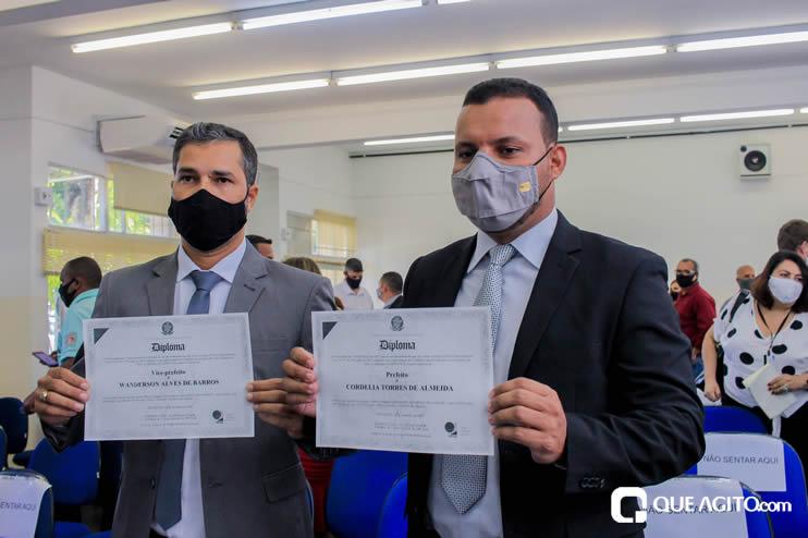 Candidatos eleitos são diplomados em Eunápolis; prefeita Cordélia Torres foi representada pelo sobrinho 26