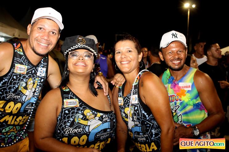 Muita animação e diversão na segunda noite Carnaval de Belmonte 2020 184