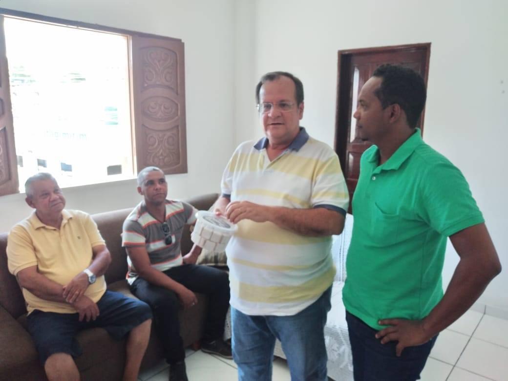 Itagimirim: Prefeito eleito Luizinho e diretor da ADAB se reúnem em encontro para planejar parcerias a partir de 2021 22