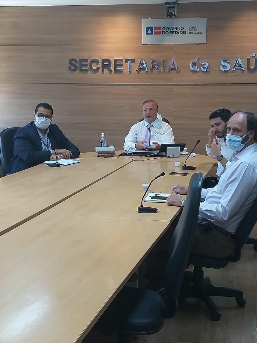 Cordélia debate situação da saúde de Eunápolis com secretário estadual Fábio Villas Boas 23