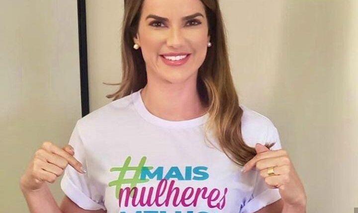Escolhida por Neto, Roberta Caires aposta em experiência na gestão para mandato na CMS 18