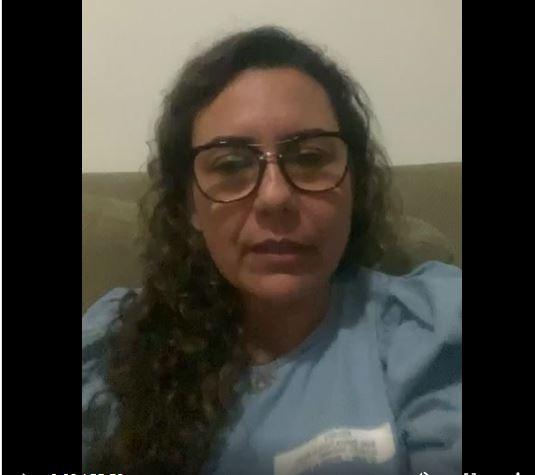 Em live direto de SP Cordélia fala sobre estado de saúde de Paulo Ernesto e pede que orem por ele 18