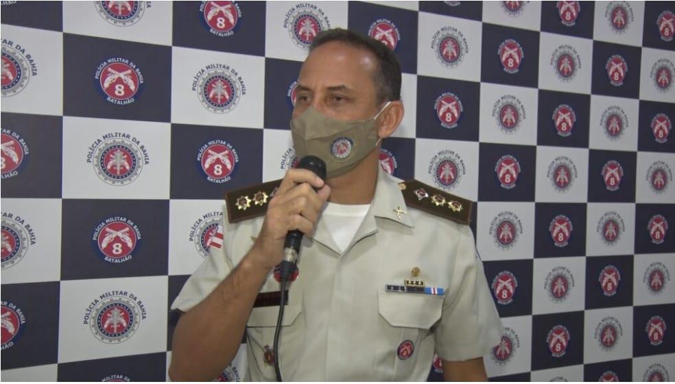 PM emite termo de notificação de risco de quebra da ordem pública alertando para não realização de eventos em Porto Seguro. 18