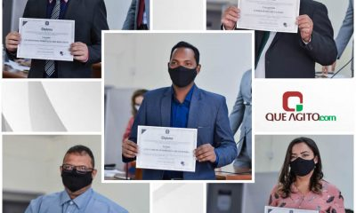 Luizinho, Lindolfo e vereadores eleitos de Itagimirim foram diplomados 12