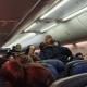 Passageiros se desesperam com morte de homem com suspeita de covid em voo 39