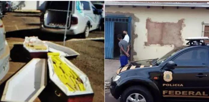 Polícia Federal encontra drogas dentro de caixões com 'vítimas de Covid-19' 18