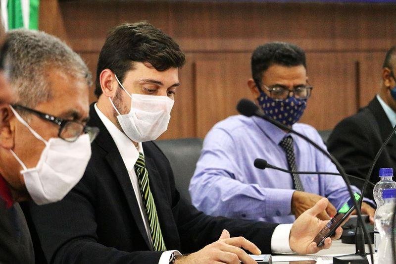"""""""Eu concluo a minha legislatura de cabeça erguida, tendo a convicção de que fiz um mandato exemplar"""". Disse Ramos Filho 21"""