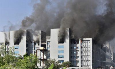 Incêndio atinge prédio do Instituto Serum, que fabrica vacinas contra Covid-19 na Índia, mas produção não é afetada 19