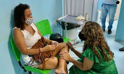 Eunápolis: Cordélia visita Hospital Regional em seu primeiro ato como prefeita 37
