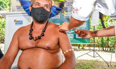 Vacinação é iniciada na comunidade indígena Aldeia Velha em Arraial d´Ajuda 6