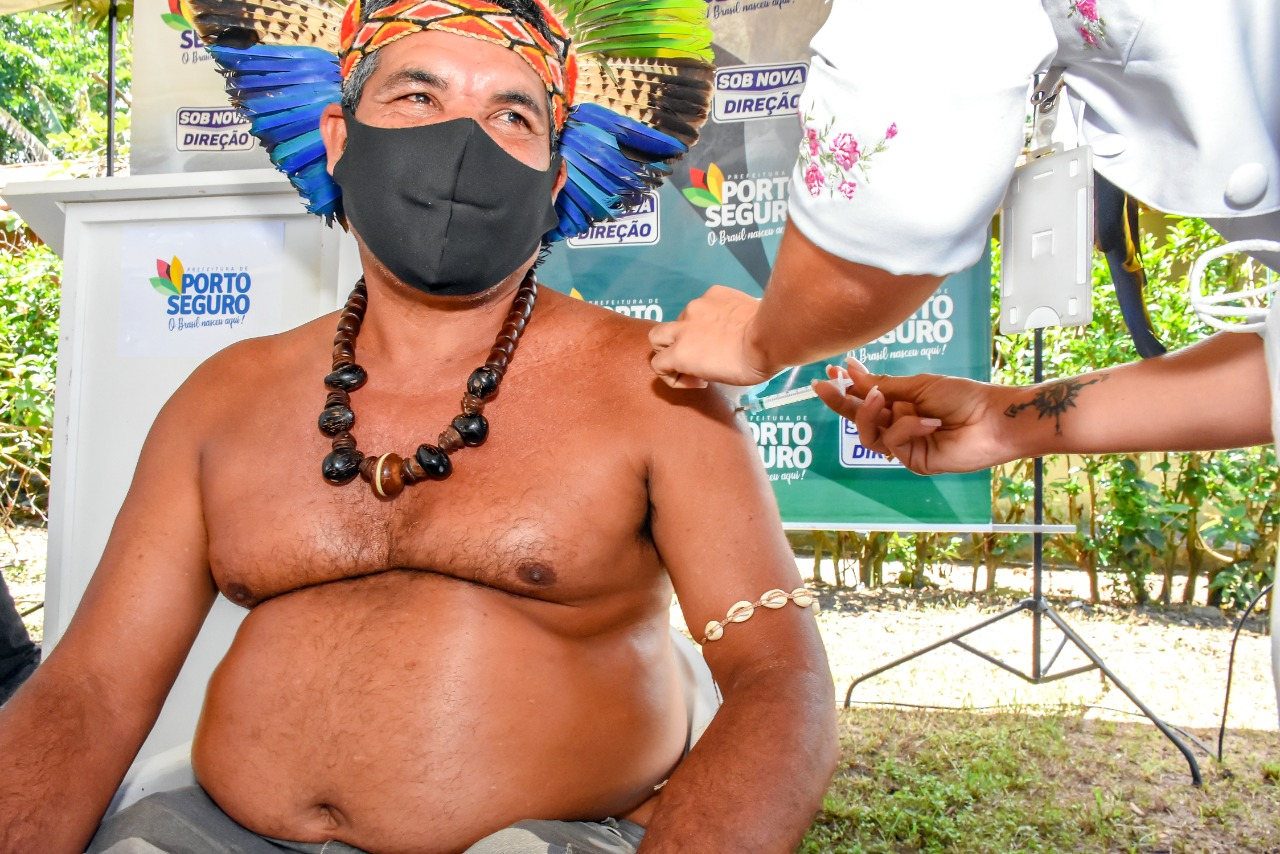 Vacinação é iniciada na comunidade indígena Aldeia Velha em Arraial d´Ajuda 24