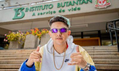 MC Fioti lança clipe de nova versão de 'Bum bum tam tam' em homenagem à vacina CoronaVac 7