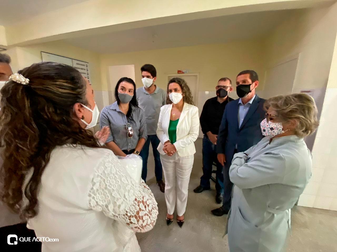 Cordélia visita Hospital de Campanha e garante retorno do funcionamento da Área de Testagem 33