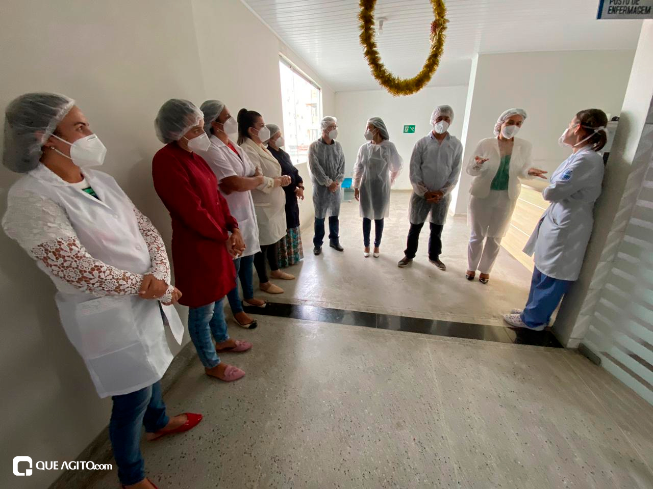 Cordélia visita Hospital de Campanha e garante retorno do funcionamento da Área de Testagem 27