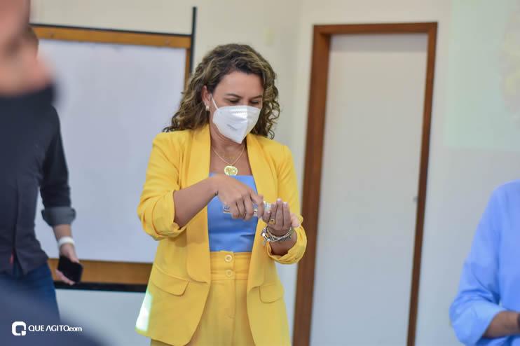 Cordélia Torres recebe ACM Neto em Eunápolis 31