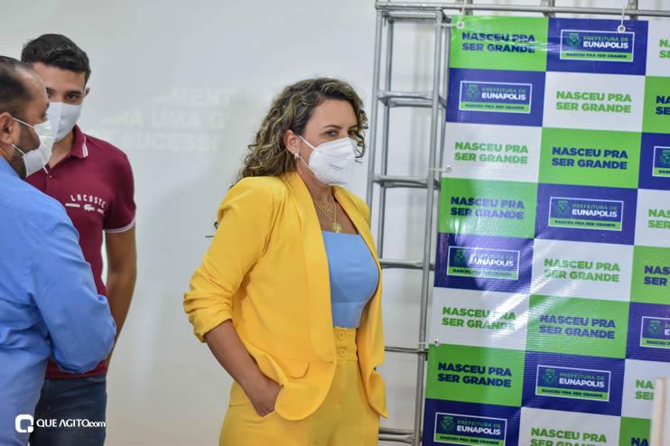 Cordélia Torres recebe ACM Neto em Eunápolis 36