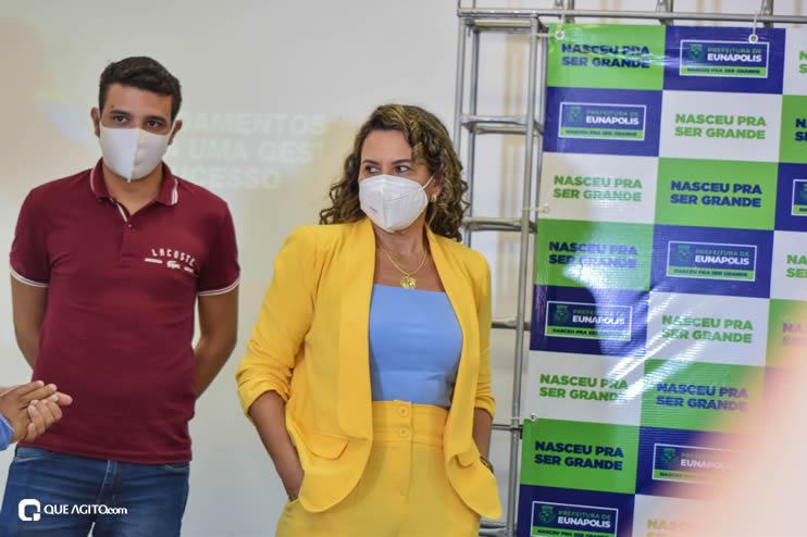 Cordélia Torres recebe ACM Neto em Eunápolis 35