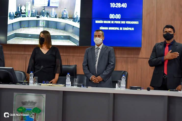 Eunápolis: Vereadores são empossados e Jorge Maécio é reeleito por unanimidade para a Câmara 37