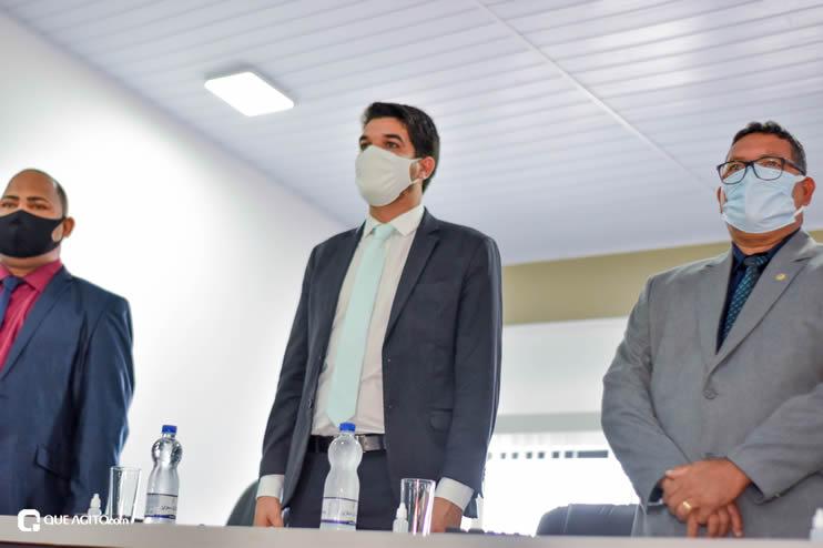 Eunápolis: Vereadores são empossados e Jorge Maécio é reeleito por unanimidade para a Câmara 50