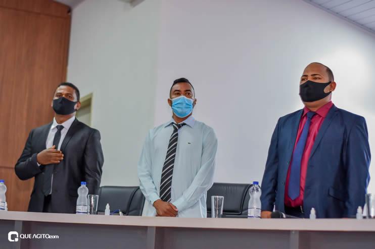 Eunápolis: Vereadores são empossados e Jorge Maécio é reeleito por unanimidade para a Câmara 47