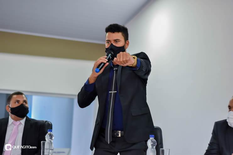 Eunápolis: Vereadores são empossados e Jorge Maécio é reeleito por unanimidade para a Câmara 54