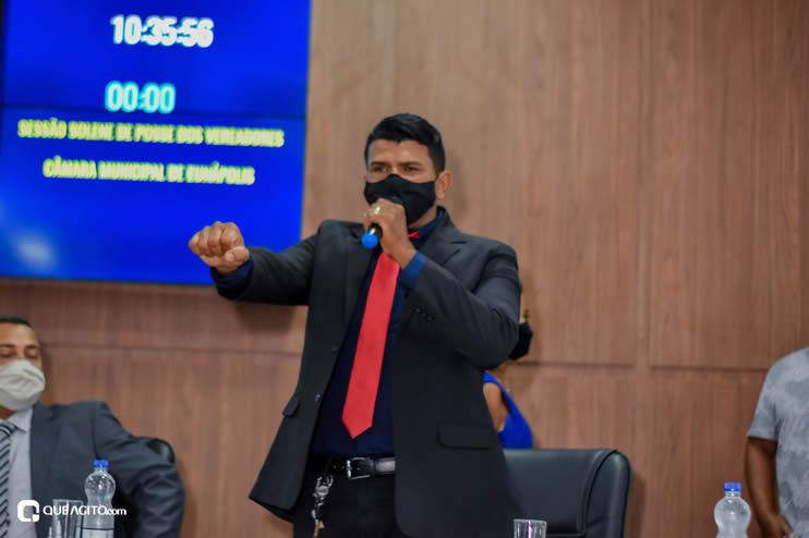Eunápolis: Vereadores são empossados e Jorge Maécio é reeleito por unanimidade para a Câmara 63