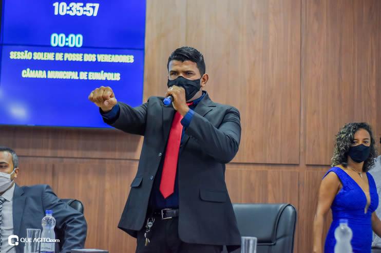 Eunápolis: Vereadores são empossados e Jorge Maécio é reeleito por unanimidade para a Câmara 65