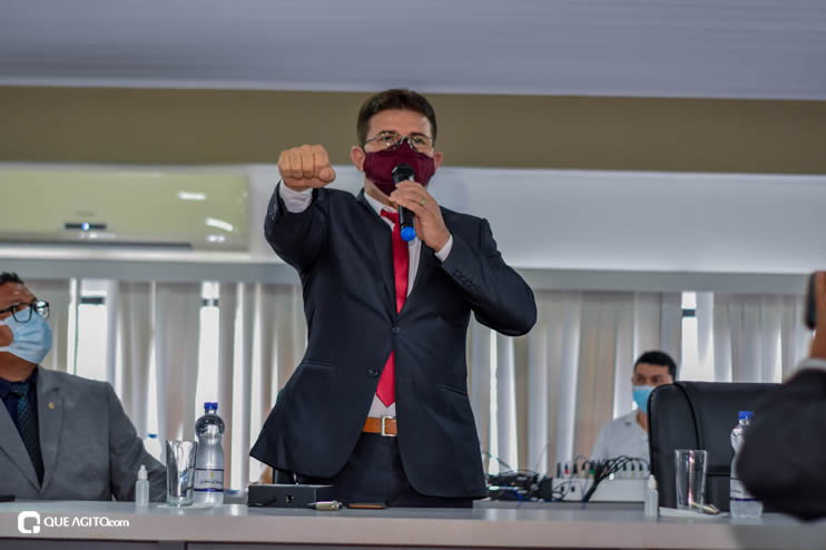 Eunápolis: Vereadores são empossados e Jorge Maécio é reeleito por unanimidade para a Câmara 74