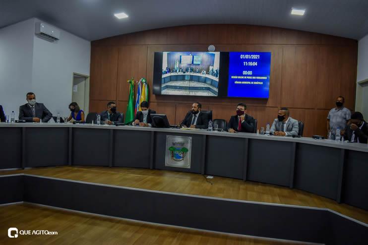 Eunápolis: Vereadores são empossados e Jorge Maécio é reeleito por unanimidade para a Câmara 219
