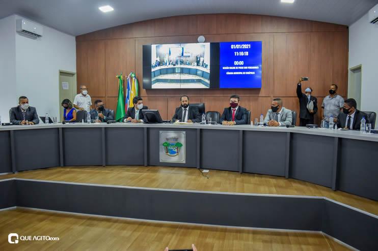 Eunápolis: Vereadores são empossados e Jorge Maécio é reeleito por unanimidade para a Câmara 25