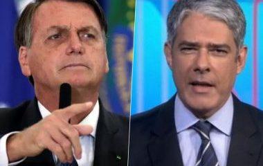 Bolsonaro chama Bonner de 'cara de pastel' e mentiroso: 'Política externa é excepcional' 17