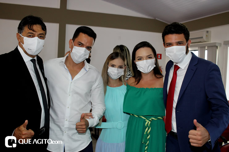 Cordélia toma posse e ex-prefeito Paulo Ernesto participa por vídeo-chamada 59