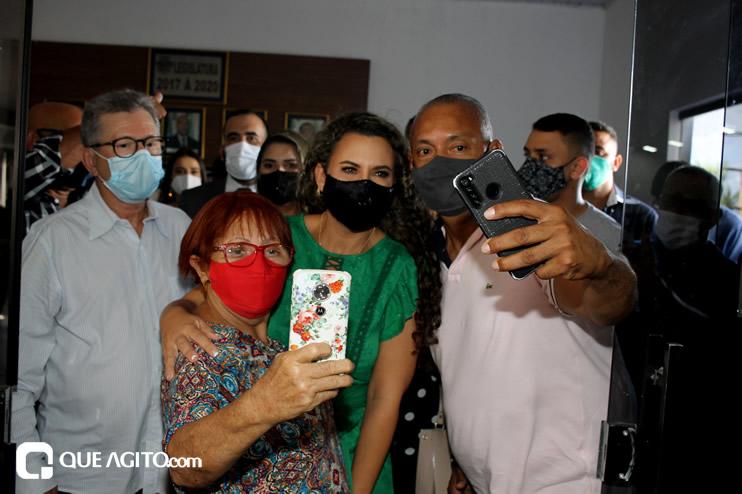Cordélia toma posse e ex-prefeito Paulo Ernesto participa por vídeo-chamada 64