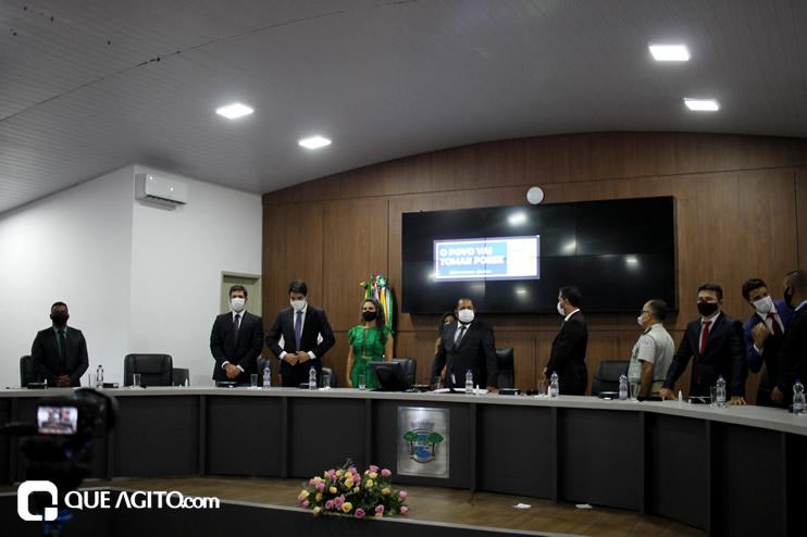 Cordélia toma posse e ex-prefeito Paulo Ernesto participa por vídeo-chamada 73