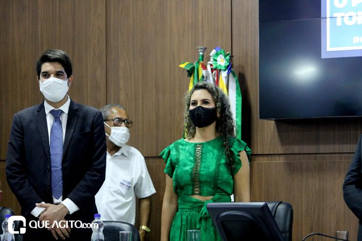 Cordélia toma posse e ex-prefeito Paulo Ernesto participa por vídeo-chamada 72