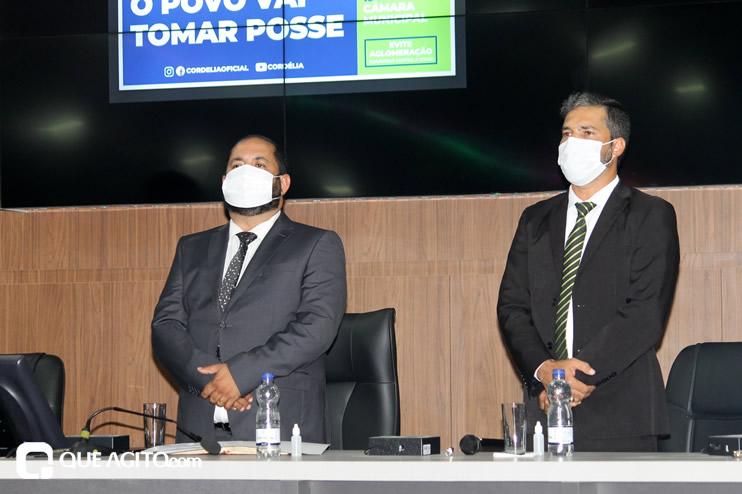 Cordélia toma posse e ex-prefeito Paulo Ernesto participa por vídeo-chamada 78
