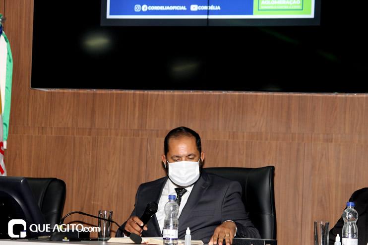 Cordélia toma posse e ex-prefeito Paulo Ernesto participa por vídeo-chamada 83
