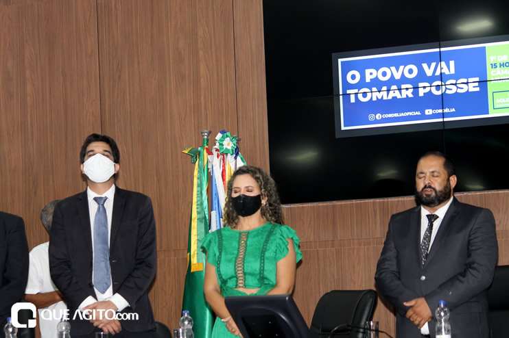 Cordélia toma posse e ex-prefeito Paulo Ernesto participa por vídeo-chamada 82