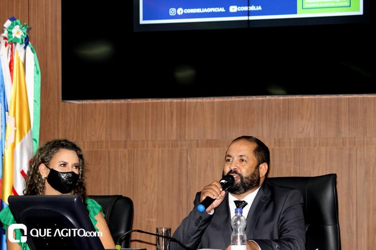 Cordélia toma posse e ex-prefeito Paulo Ernesto participa por vídeo-chamada 34