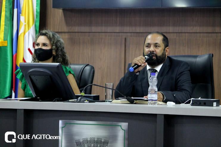 Cordélia toma posse e ex-prefeito Paulo Ernesto participa por vídeo-chamada 84