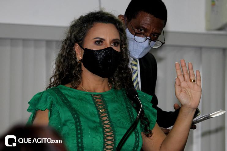 Cordélia toma posse e ex-prefeito Paulo Ernesto participa por vídeo-chamada 87