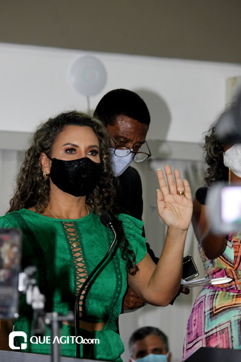 Cordélia toma posse e ex-prefeito Paulo Ernesto participa por vídeo-chamada 88