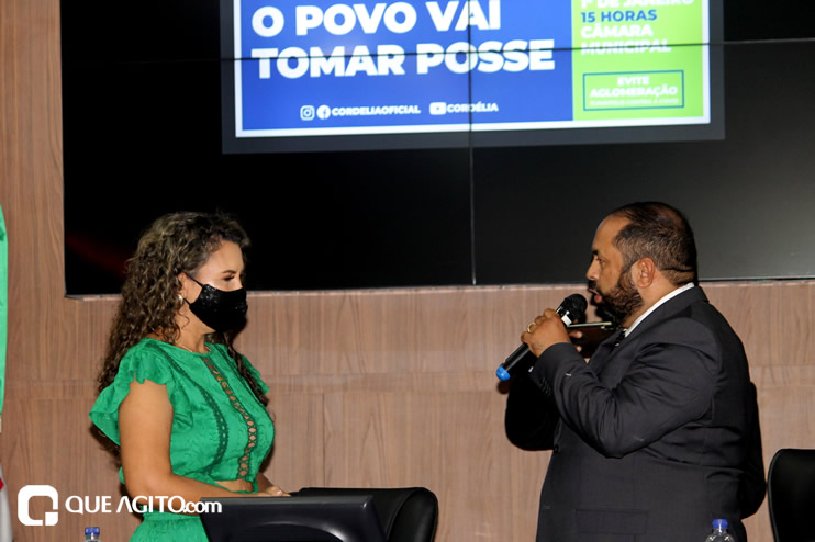 Cordélia toma posse e ex-prefeito Paulo Ernesto participa por vídeo-chamada 92