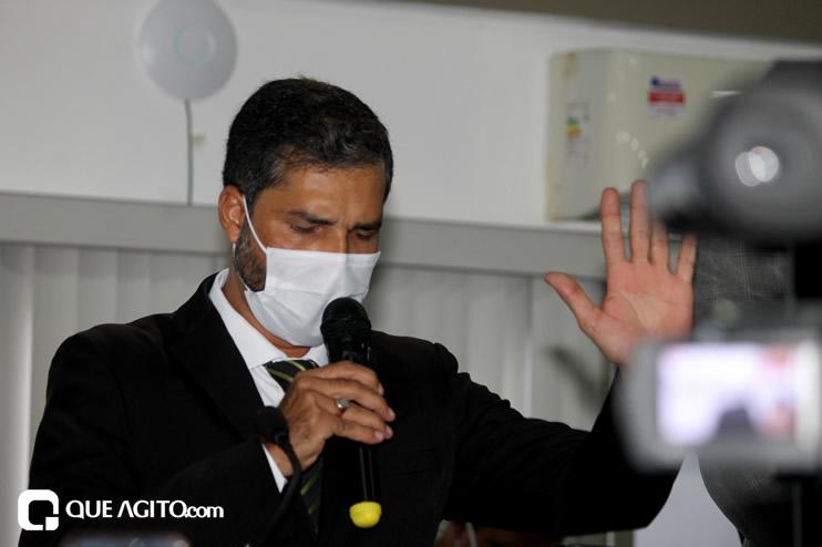 Cordélia toma posse e ex-prefeito Paulo Ernesto participa por vídeo-chamada 90
