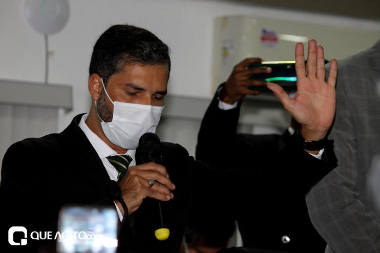 Cordélia toma posse e ex-prefeito Paulo Ernesto participa por vídeo-chamada 91