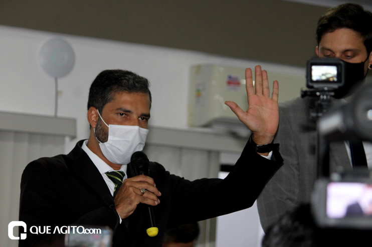 Cordélia toma posse e ex-prefeito Paulo Ernesto participa por vídeo-chamada 35