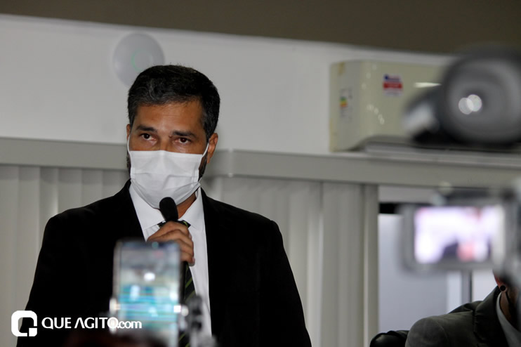 Cordélia toma posse e ex-prefeito Paulo Ernesto participa por vídeo-chamada 96