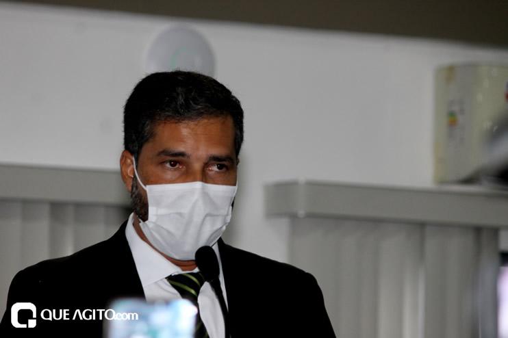 Cordélia toma posse e ex-prefeito Paulo Ernesto participa por vídeo-chamada 97