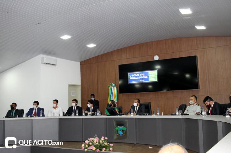 Cordélia toma posse e ex-prefeito Paulo Ernesto participa por vídeo-chamada 100